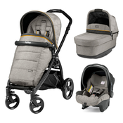 Коляска PEG-PEREGO BOOK PLUS MATT BLACK POP-UP LUXE GREY 3 В 1