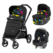 Коляска PEG-PEREGO BOOK PLUS MATT BLACK POP-UP MANRI 3 В 1