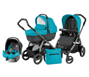 Коляска PEG-PEREGO BOOK PLUS 51 S JET XL+POP-UP SPORTIVO BLOOM SCUBA 3 В 1