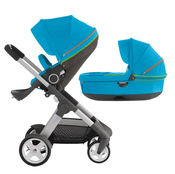 Коляска STOKKE CRUSI URBAN BLUE 2 В 1