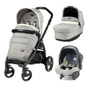 Коляска PEG-PEREGO BOOK PLUS MATT BLACK POP-UP LUXE OPAL 3 В 1
