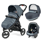 Коляска PEG-PEREGO BOOK CROSS BLUE DENIM  3 В 1