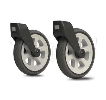 Передние вездеходные колеса для коляски JOOLZ Day2 SILVER