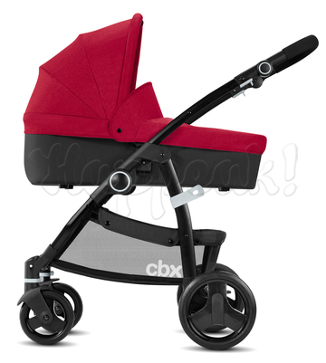 Коляска CBX LEOTIE PURE CRUNCHY RED 2 В 1