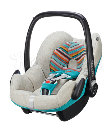 Автокресло MAXI-COSI PEBBLE FOLKLORIC BLUE