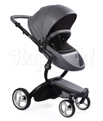 Коляска MIMA XARI FLAIR 2G COOL GREY - BLACK 2 В 1 на шасси BLACK