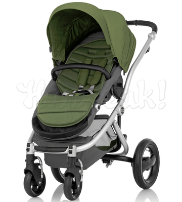 Коляска BRITAX AFFINITY SILVER CACTUS GREEN