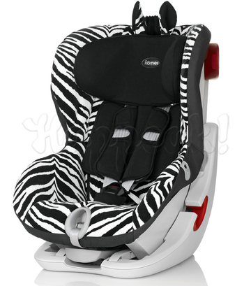 Автокресло BRITAX ROMER KING II LS SMART ZEBRA