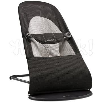 Кресло-шезлонг BABYBJORN BALANCE SOFT AIR BLACK GREY