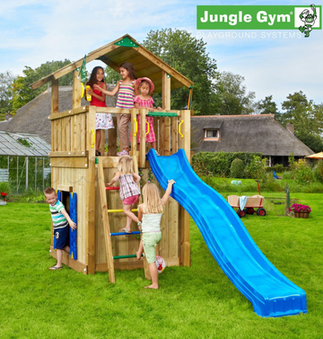 Игровой комплекс JUNGLE GYM CHALET +PLAYHOUSE