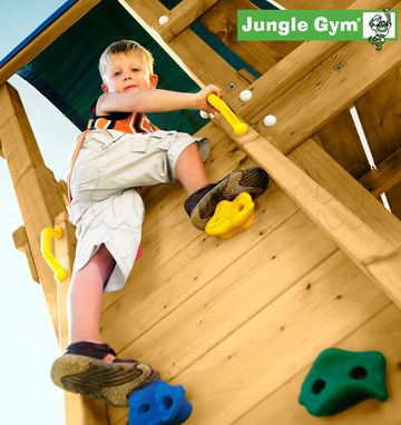 Игровой комплекс JUNGLE GYM CASTLE +SWING+ROCK MODULES