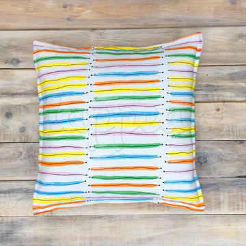 Подушка ручной работы VAMVIGVAM RAINBOW STRIPES 40 х 40