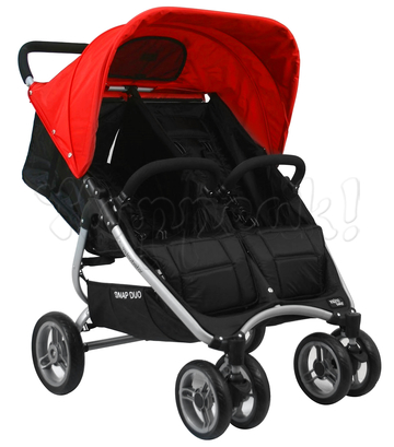 Капор для коляски VALCO BABY SNAP DUO CHERRY