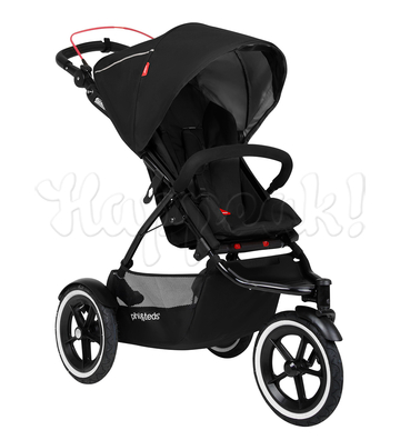 Коляска PHIL AND TEDS SPORT BLACK  2 В 1