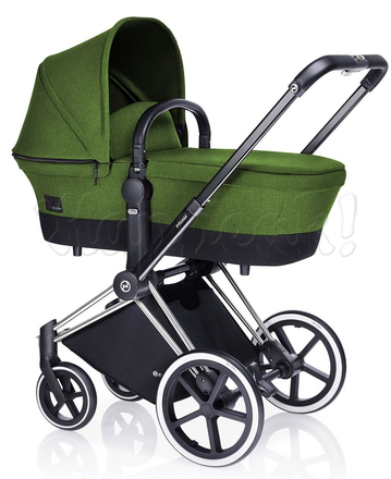 Коляска CYBEX PRIAM LUX HAWAII 3 В 1 на раме ALL TERRAIN + ATON Q PLUS
