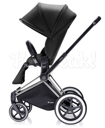 Коляска CYBEX PRIAM LUX BLACK BEAUTY 2 В 1 на раме ALL TERRAIN