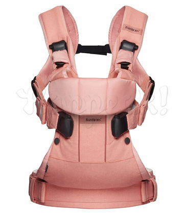 Рюкзак-кенгуру BABYBJORN ONE COTTON MIX CORAL