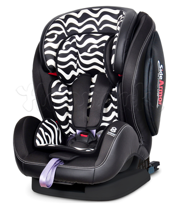 Автокресло WELLDON ENCORE FIT SIDE ARMOR&CUDDLE ME ISOFIX ZEBRA