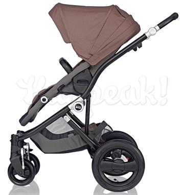 Коляска BRITAX AFFINITY BLACK FOSSIL BROWN