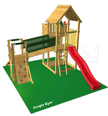 Игровой комплекс JUNGLE GYM PALACE +BRIDGE MODULE
