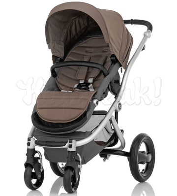 Коляска BRITAX AFFINITY SILVER FOSSIL BROWN