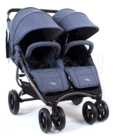 Коляска для двойни VALCO BABY SNAP DUO TAILORMADE DENIM