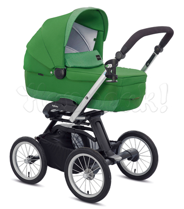 Коляска INGLESINA QUAD GOLF GREEN 3 В 1 на шасси QUAD XT