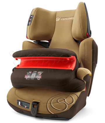 Автокресло CONCORD TRANSFORMER PRO WALNUT BROWN 2016