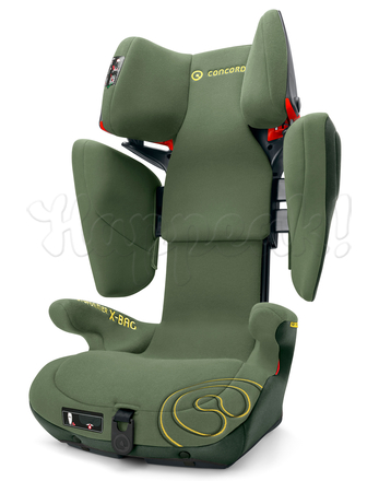 Автокресло CONCORD TRANSFORMER X-BAG JUNGLE GREEN 2016