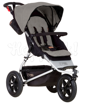 Коляска MOUNTAIN BUGGY URBAN JUNGLE SILVER 2 В 1