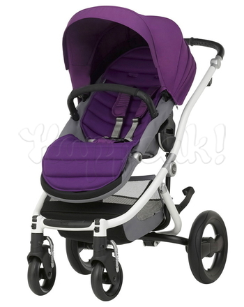 Коляска прогулочная BRITAX AFFINITY 2 WHITE MINERAL PURPLE
