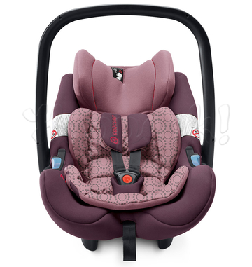 Автокресло CONCORD AIR SAFE+CLIP RASPBERRY PINK