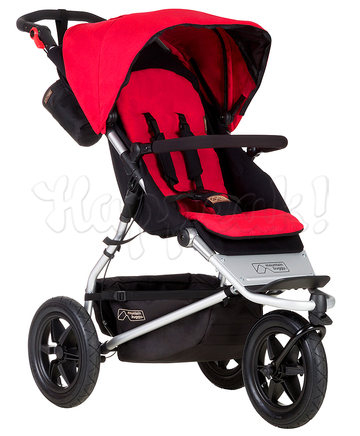 Коляска MOUNTAIN BUGGY URBAN JUNGLE BERRY 2 В 1