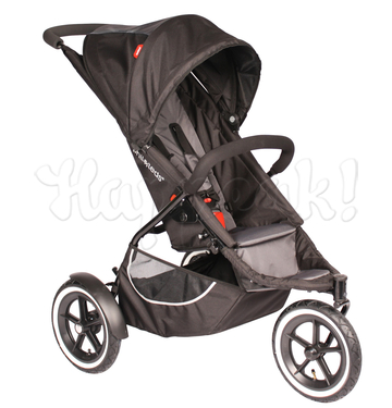 Коляска PHIL AND TEDS CLASSIC 2 BLACK 2 В 1