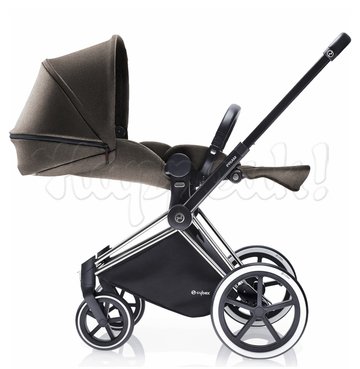 Коляска CYBEX PRIAM LUX DESERT KHAKI 3 В 1 на раме ALL TERRAIN + CLOUD Q PLUS