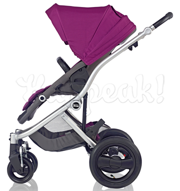 Коляска BRITAX AFFINITY SILVER COOL BERRY