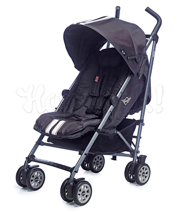 Коляска прогулочная EASYWALKER MINI BUGGY XL THUNDER GREY