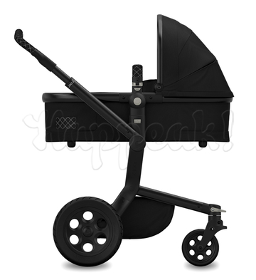 Коляска JOOLZ DAY TAILOR NOIR BLACK WHEELS BLACK WHITE DS  2 В 1
