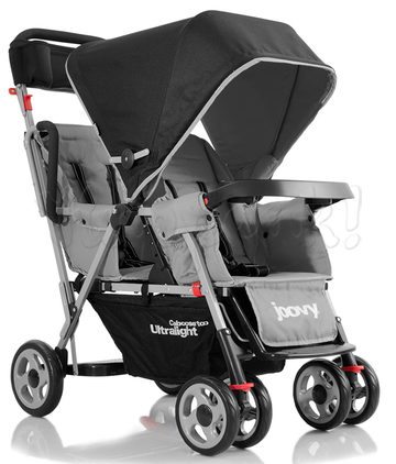 Коляска JOOVY CABOOSE TOO ULTRALIGHT CHARCOAL