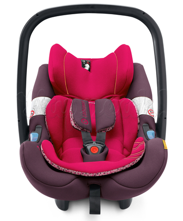 Автокресло CONCORD AIR SAFE+CLIP ROSE PINK 2016