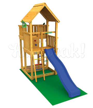 Игровой комплекс JUNGLE GYM PALACE +CLIMB MODULE