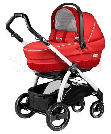 Коляска PEG-PEREGO BOOK PLUS S COMPLETO MODULAR SUNSET  3 В 1 на шасси WHITE