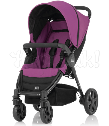Коляска BRITAX B-AGILE 4 COOL BERRY