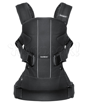 Рюкзак-кенгуру BABYBJORN ONE COTTON MIX BLACK