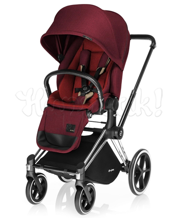Коляска CYBEX PRIAM LUX HOT & SPICY 2 В 1 на раме ALL TERRAIN
