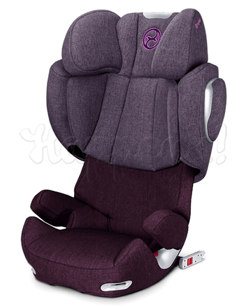 Автокресло CYBEX SOLUTION Q2-FIX PLUS GRAPE JUICE