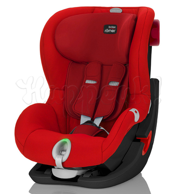 Автокресло BRITAX ROEMER KING II LS BLACK SERIES FLAME RED