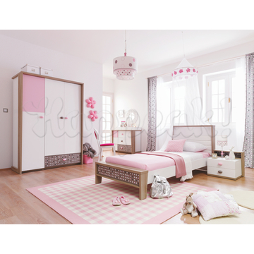 Кровать NEW JOY PINK POINT 90 х 200