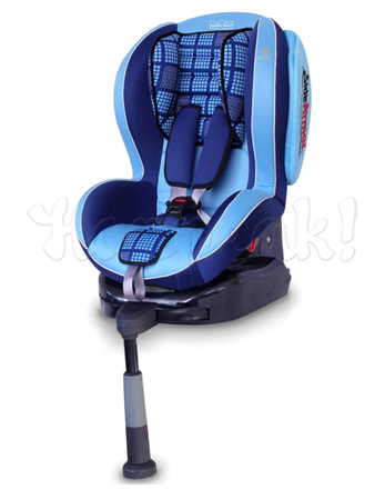 Автокресло WELLDON ROYAL BABY SIDE ARMOR&CUDDLE ME ISOFIX BLUE