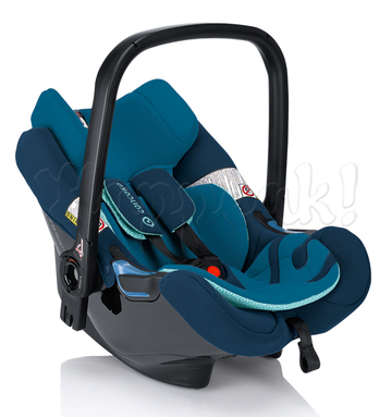 Автокресло CONCORD AIR SAFE+CLIP AQUA BLUE